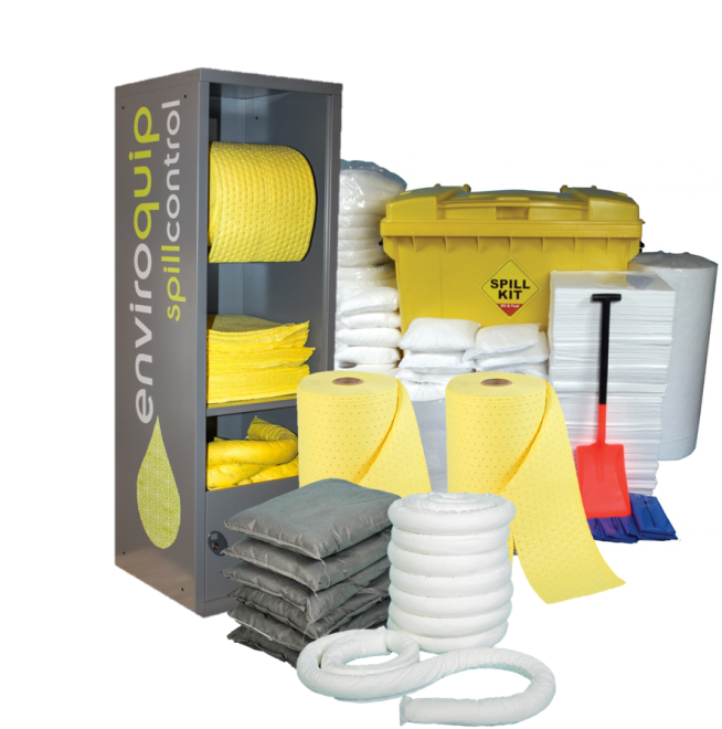 Enviroquip Spill Control supply a range of absorbent materials.