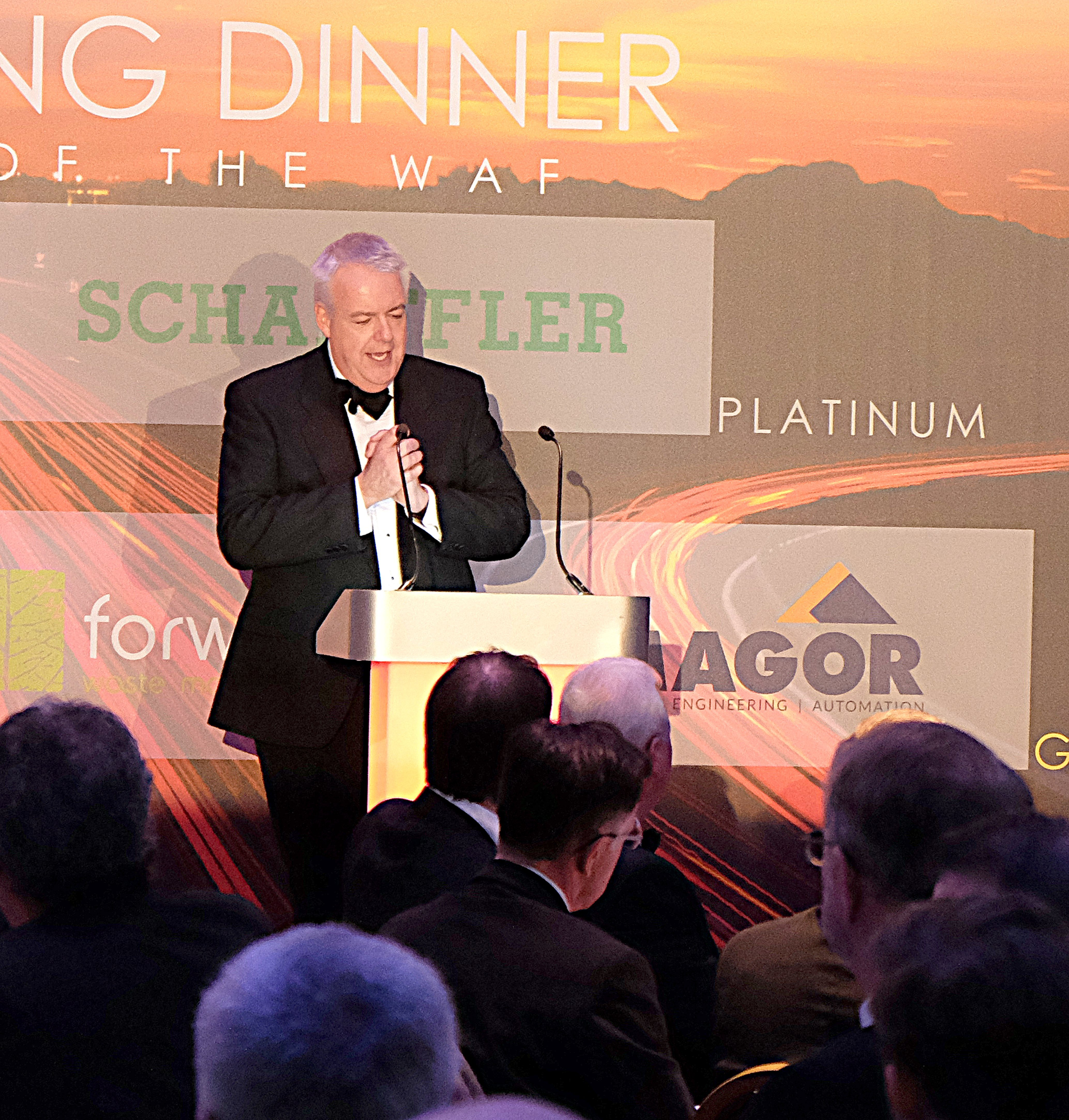 Carwyn Jones at the Welsh Automotive Forum